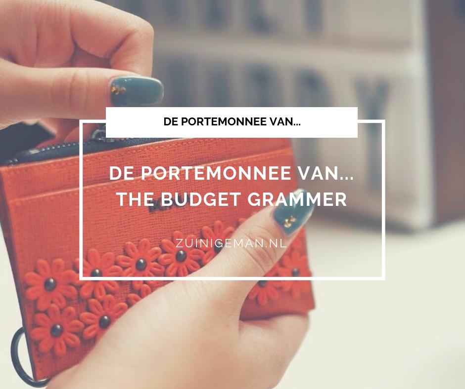 804d5b957c6 De portemonnee van... The Budget Grammer - Zuinigeman