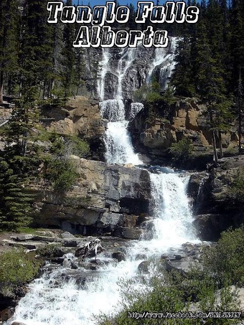 Tangle Falls,Alberta,Beautiful scenery