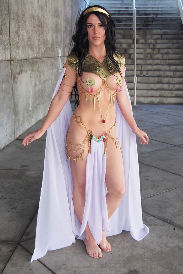 Cosplay Dejah Thoris - Princess of Mars by Jacqueline Goehner, posted on Thursday, 12 July 2018
