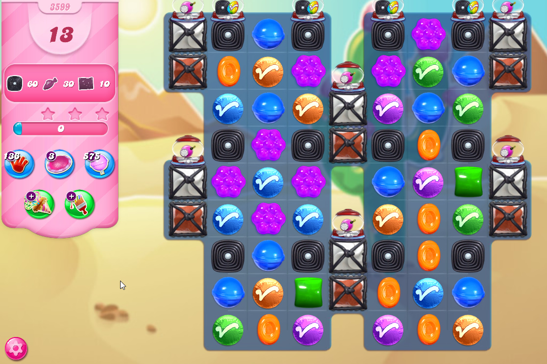 Candy Crush Saga level 3599