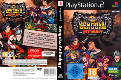 Jogo Sengoku Anthology PS2 DVD Capa