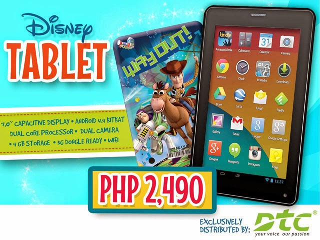 Disney Tablet by DTC Mobile