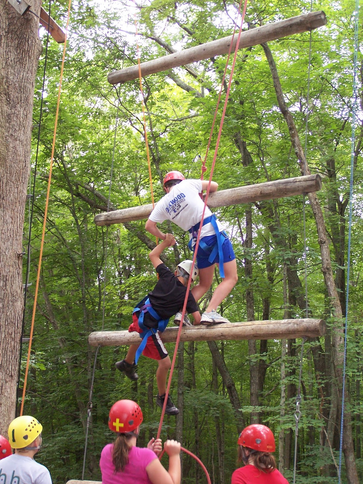 Mansfield S Holiday Hill Day Camp Blog High Ropes Course