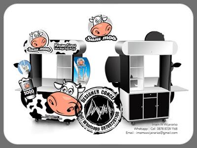 produksi gerobak susu murni bandung