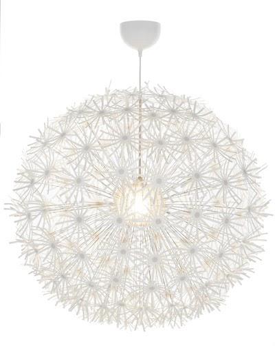princesssspumpkin ikea deckenlampe pusteblume. Black Bedroom Furniture Sets. Home Design Ideas
