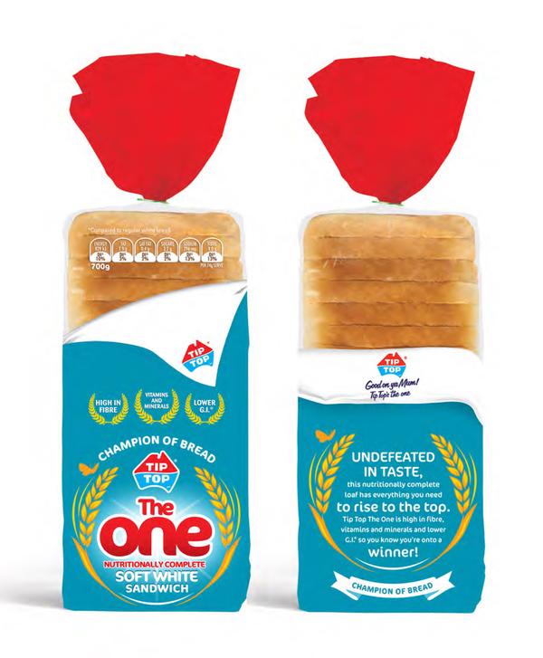bakery industry popular brands of bread in australia