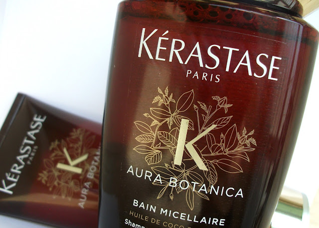Kérastase Aura Botanica Bain Micellaire and Soin Fondamentale, luxury and fair-trade haircare for dull and dry hair