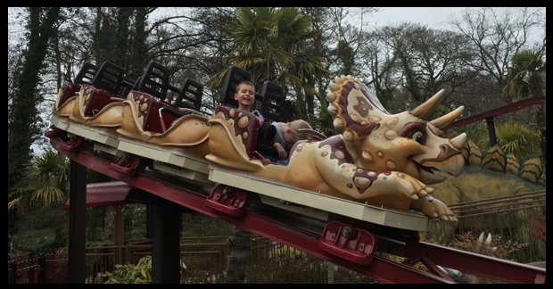 Dino Roller coasters at Paultons Park