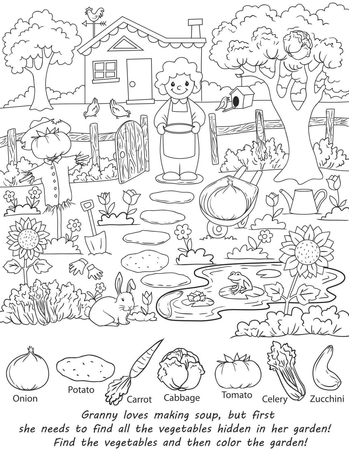 Christmas Hidden Pictures For Kids