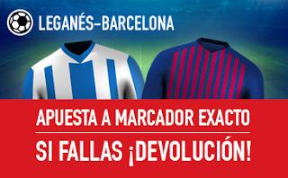 sportium Promocion Liga Leganes vs Barcelona 26 septiembre