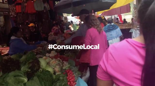 Queremos que lo hagas también, #ConsumeLocal, Mercado en Zacatlán.