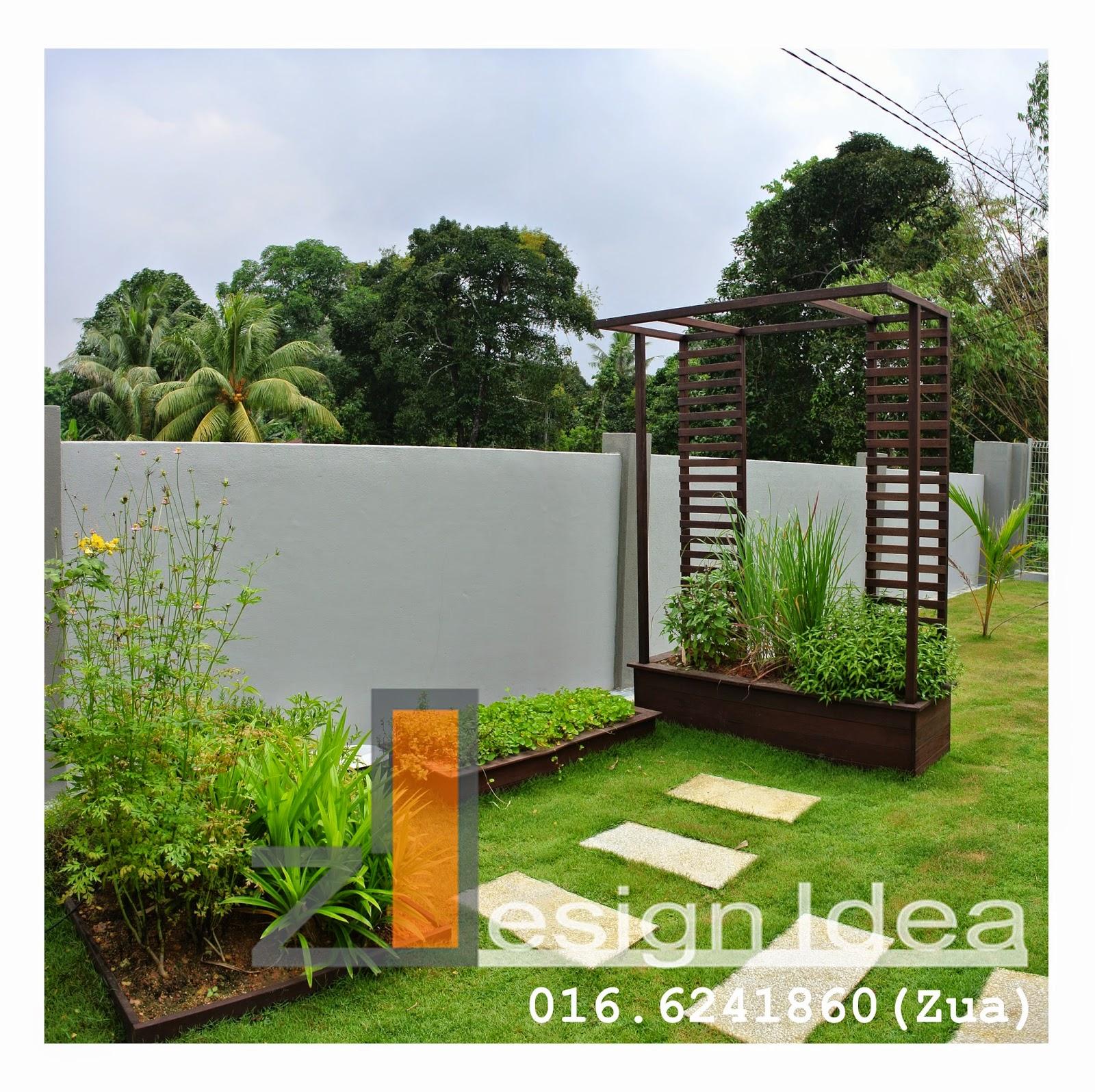 Tropical Outdoor Living : Tropical Garden-Bungalow House on Tropical Outdoor Living id=75195
