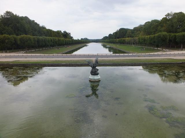 el gran canal de Fontainebleau