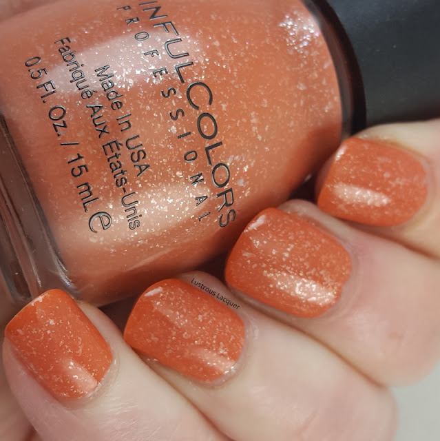Desert-divas-collection-spring-2017-rich-orange-nail-polish-with flakies