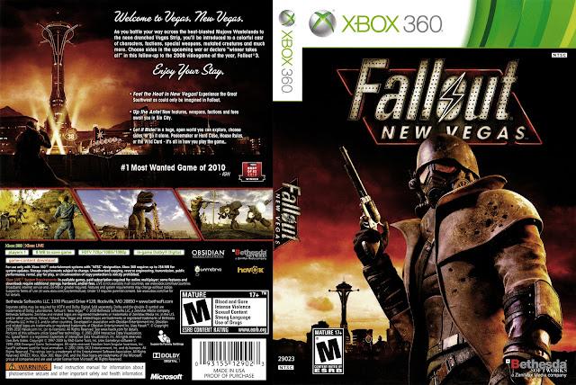 Capa Fallout: New Vegas Xbox 360