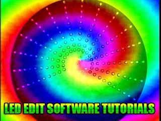 LED EDIT Software Tutorials