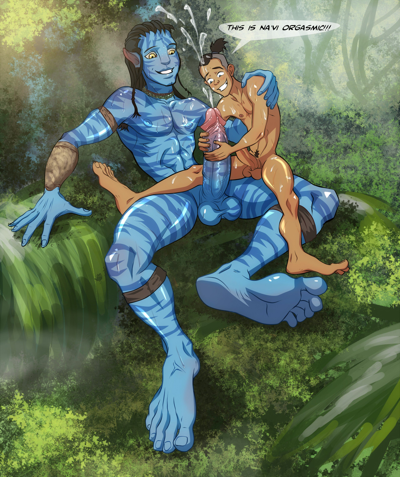 Avatar Gay Cartoon Porn
