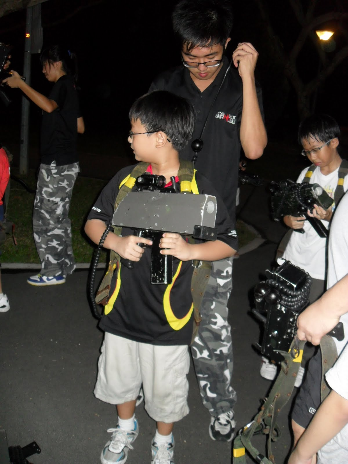 Of Kids and Education: Combat laser tag with dad