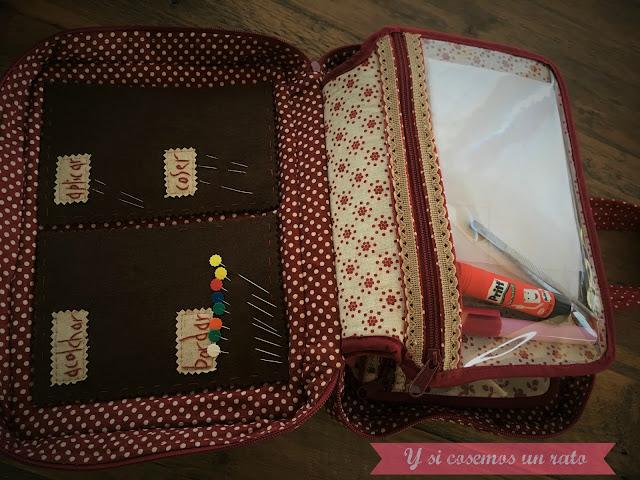 organizador de costura, costurero, sewing case