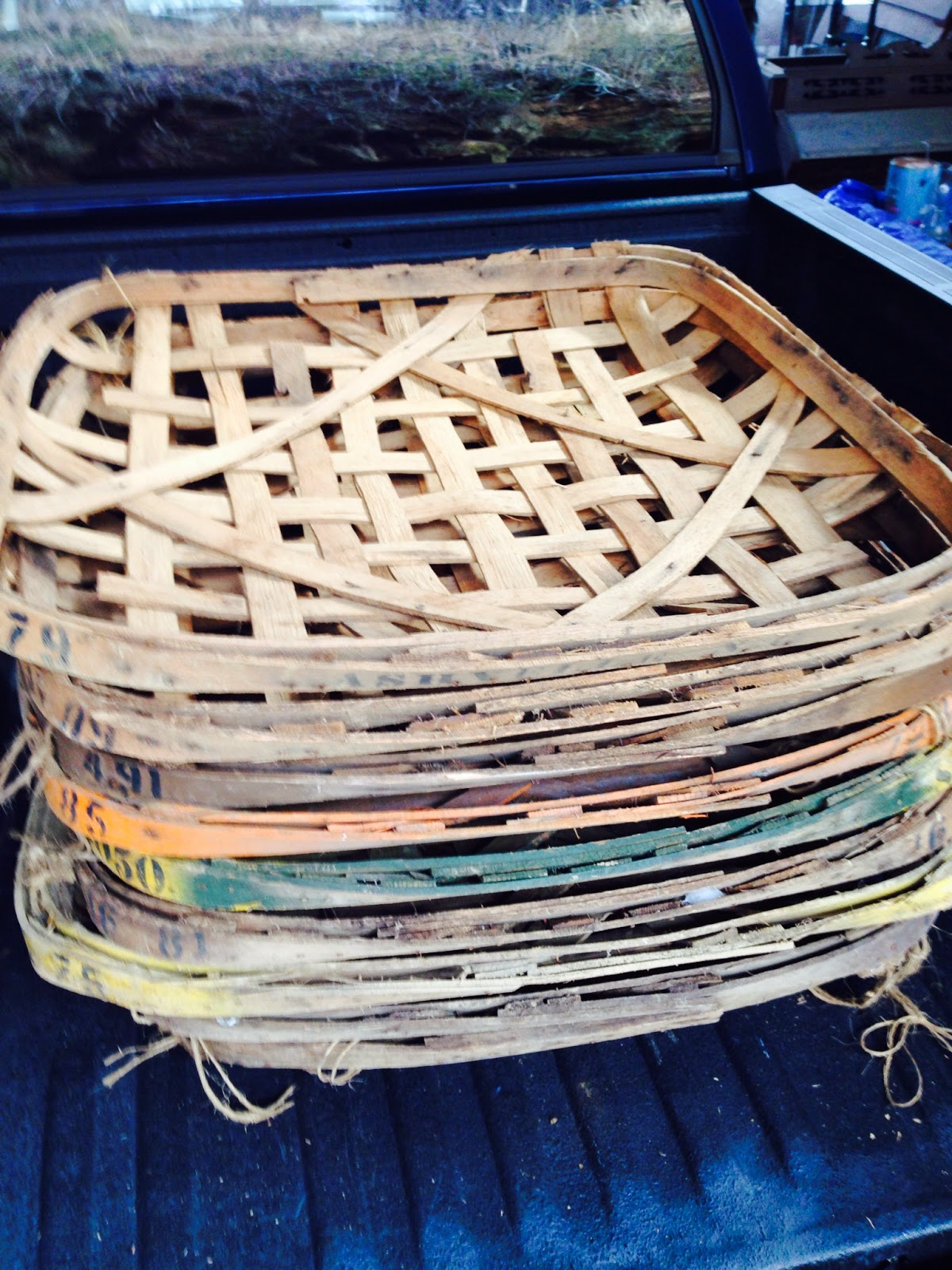 Tobacco Baskets For Sale