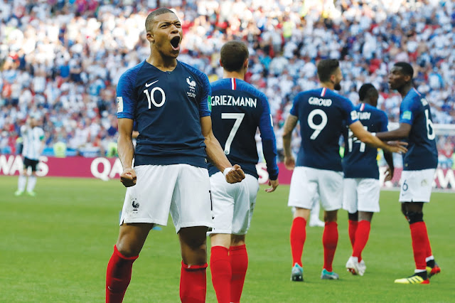 FIFA World Cup Finals: France 4 - 2 Croatia | France Wins the World Cup