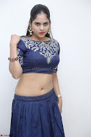 Ruchi Pandey in Blue Embrodiery Choli ghagra at Idem Deyyam music launch ~ Celebrities Exclusive Galleries 093.JPG