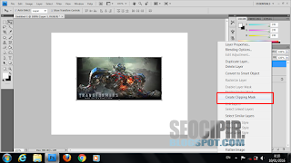 Tutorial Membuat Tulisan Bergambar Menggunakan Photoshop