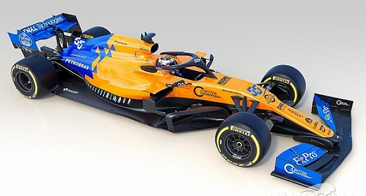 McLaren: MCL34 car for 2019 Formula 1 season unveiled