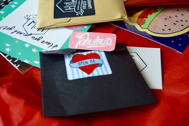 Diner themed subscription box