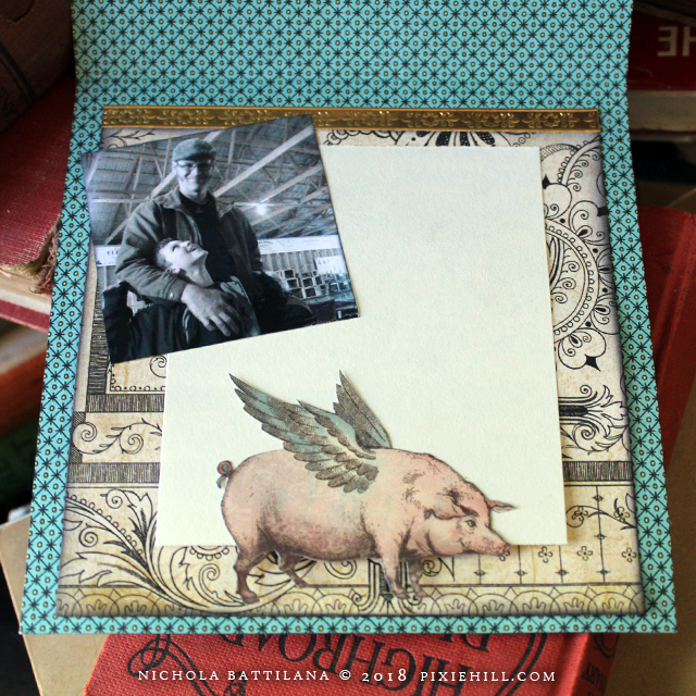 Old Curiosity Shoppe Fathers Day Card - Nichola Battliana