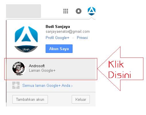 Cara Hapus Laman Google+