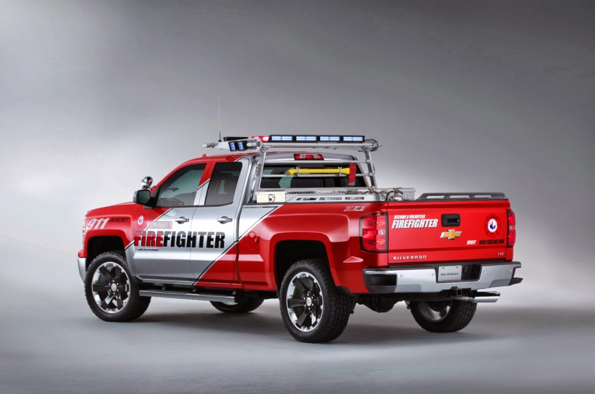 Truck chevy concept truck reaper : Hank Graff Chevrolet - Bay City: Chevy Debuts Two New Concept Trucks