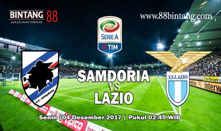Prediksi Bola Sampdoria vs Lazio 04 December 2017