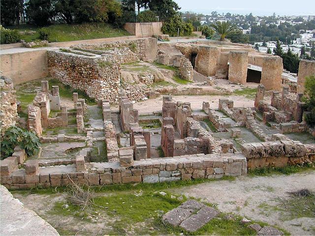 الحضارات المتعاقبة على تونس