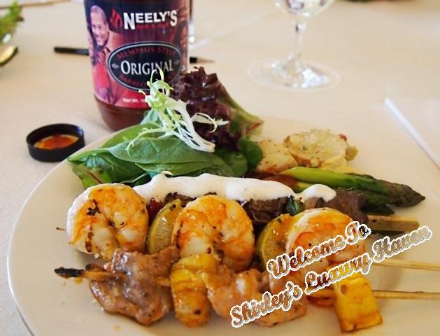food network asia, neelys, bbq, prawns