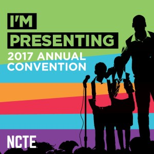 I'm presenting at NCTE in Houston