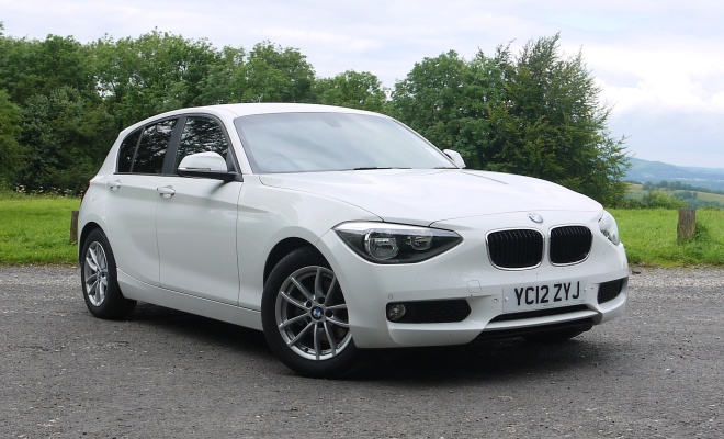 BMW 116d Efficient Dynamics nose-on