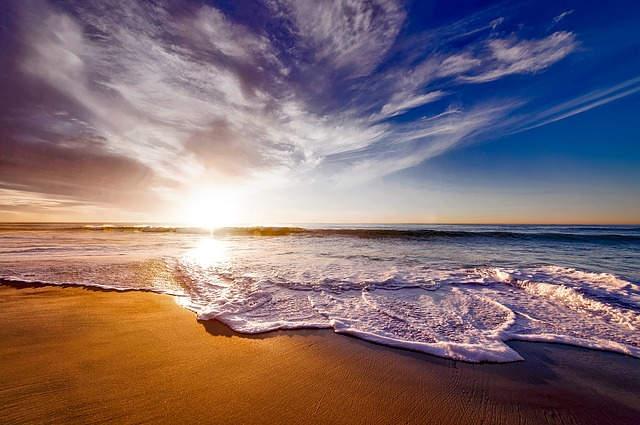 Salah satu pantai di California