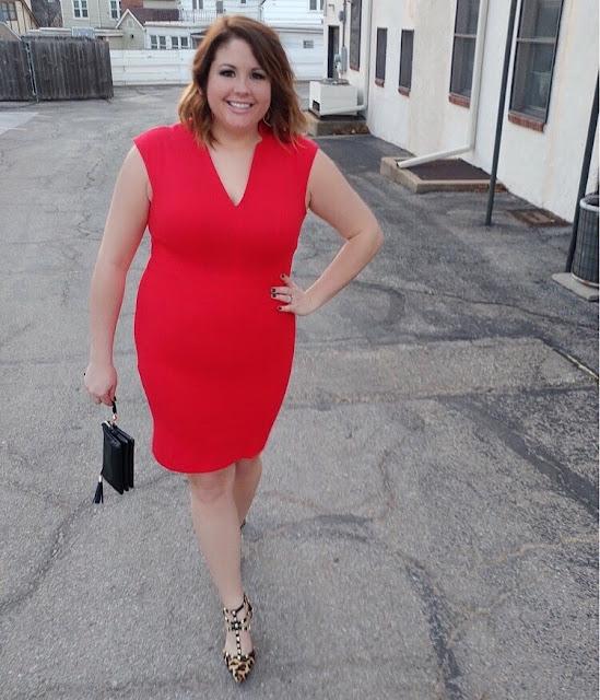 Red dress b arn