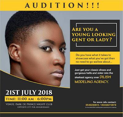 Ghana modelling house, Sasyentgh, Dilish modelling agency