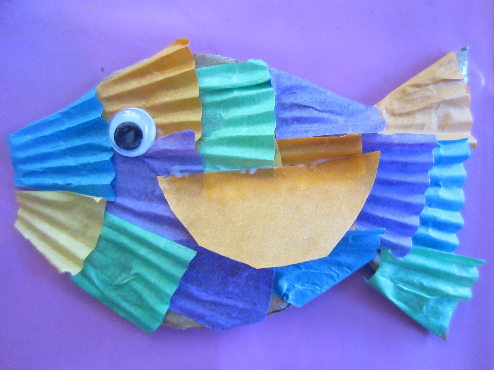 Learn With Play At Home Create An Underwater Scene Part 1 The Fish