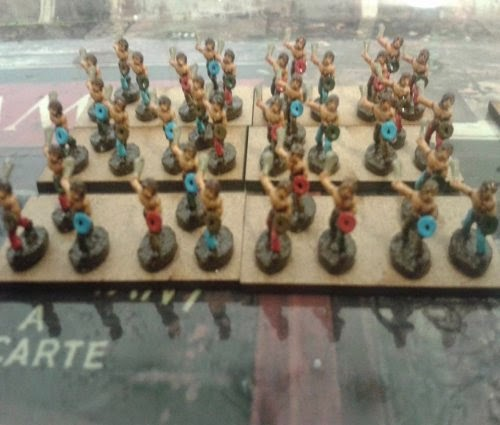 Some more skirmishers completed for my Gallic/Celtic army  picture 2