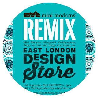 Mini Moderns REMIX, London Design Festival 2013