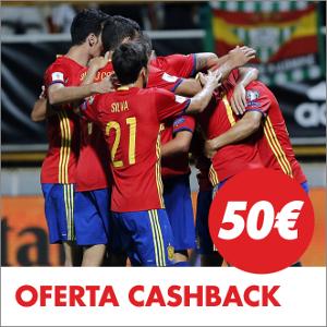 circus promocion 50 euros Liechtenstein vs España 5 septiembre