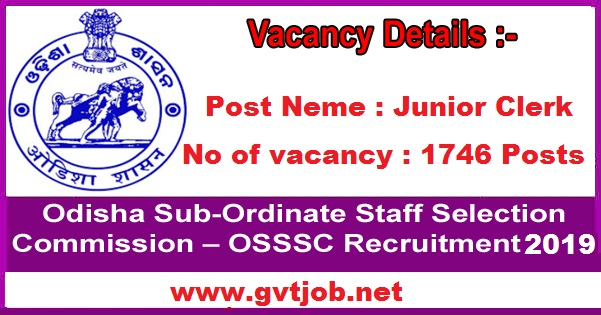 Sarkari Jobs OSSSC Vacancies For 1746 Posts Know How To Apply Sarkari Naukri