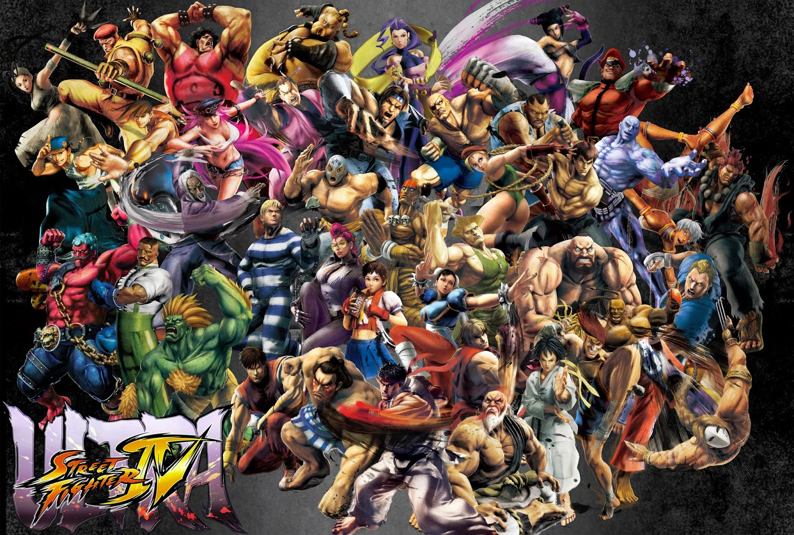 Can You Name Every Street Fighter Iv Character Digitally Downloaded