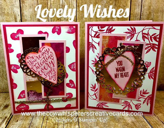 Clean & Simple, Lovely Wishes, Doilies, Painted with Love