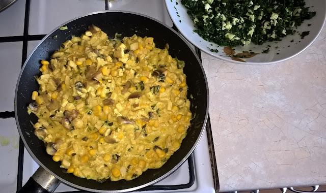 kurczak wsosie serowo-curry
