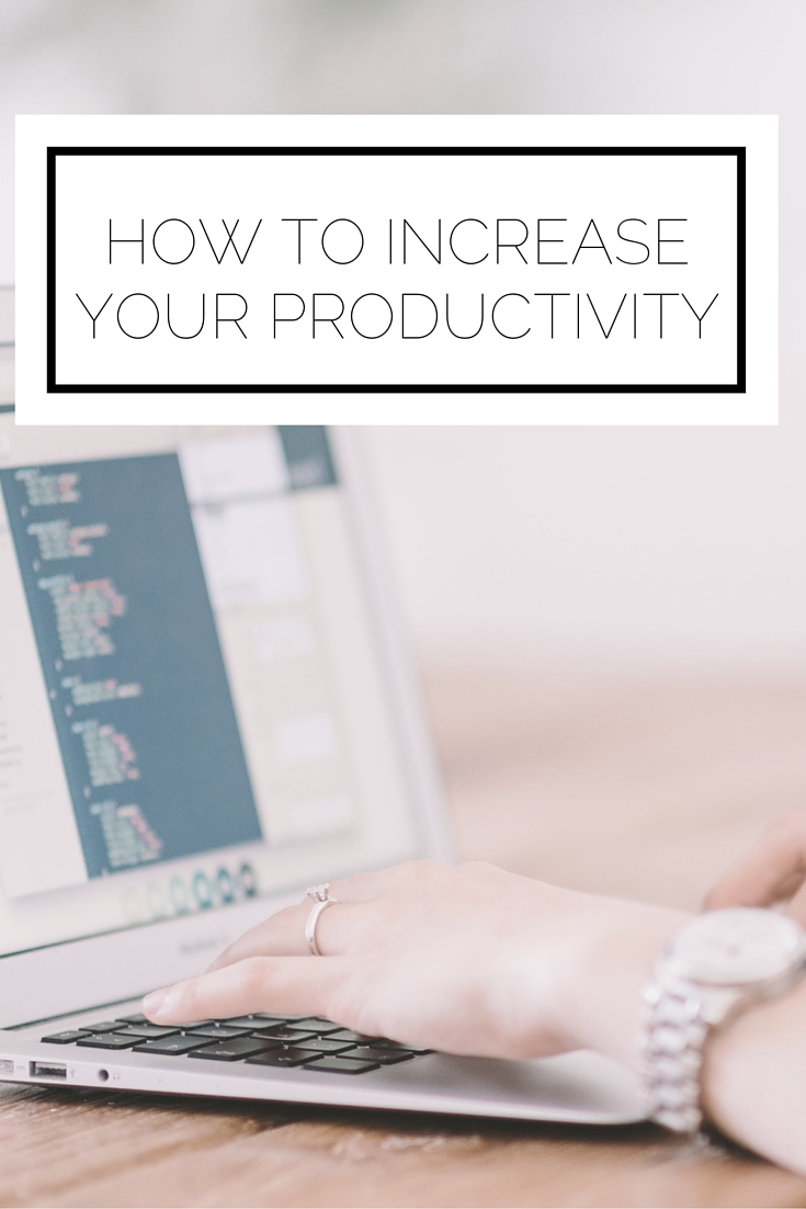 Click to read now or pin to save for later! Use these 4 easy tactics to increase your productivity today