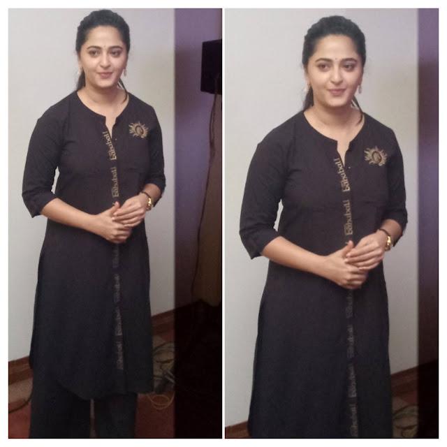 Anushka at Baahubali 2 Tamil Movie Press Meet Photos